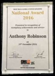 AR Krav Maga - National Awards