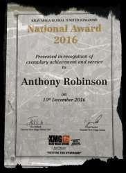 AR Krav Maga National Awards
